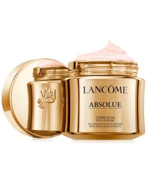 Lancome Absolue Revitalizing & Brightening Rich Cream With Grand Rose Extracts, 60 Ml