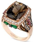 Le Vian Smokey Quartz And Multistone Ring (7-1/3 Ct. T.w.) In 14k Rose Gold