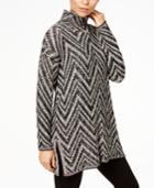 Eileen Fisher Mock-neck Tunic Sweater