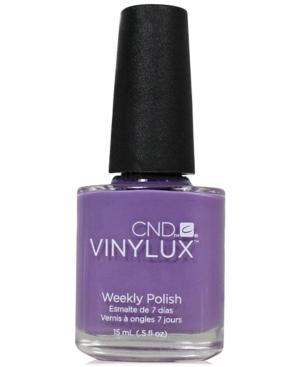 Creative Nail Design Vinylux Lilac Longing Nail Polish