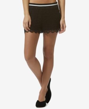 Avec Les Filles Lace Shorts