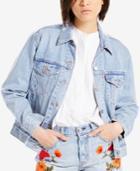 Levi's Cotton Ex-boyfriend Embroidered Trucker Jacket
