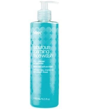 Bliss Fabulous Foaming Face Wash, 16 Oz