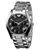 Emporio Armani Watch, Men's Chronograph Stainless Steel Bracelet Ar0673