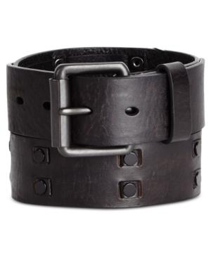 Levi's Limited Men's Studded Leather Belt, Created For Macy's