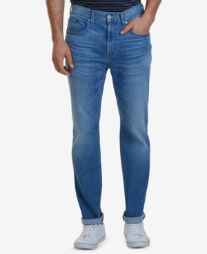 Nautica Men's Pure Blue Wash Straight-fit Jeans
