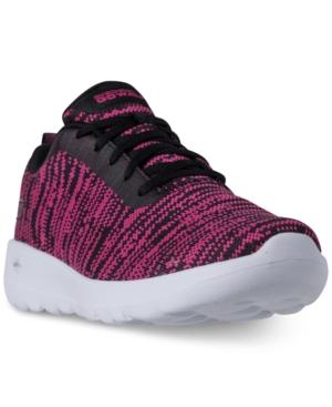 Skechers Women's Gowalk Joy Walking Wide Sneakers From Finish Line