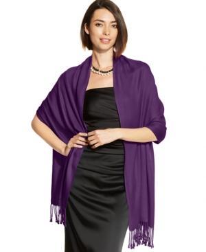 Inc International Concepts Satin Pashmina Wrap, Created For Macy's