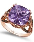 Le Vian Amethyst (6 Ct. T.w.) And Diamond (1/2 Ct. T.w.) Ring In 14k Rose Gold