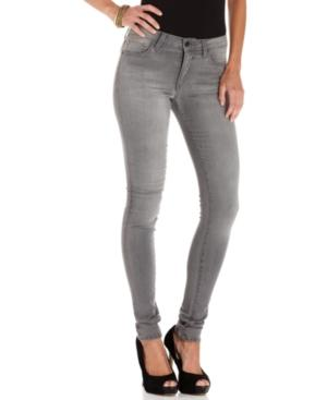 Else Jeans Skinny Jeans, Skinny Grey-wash Colored-denim