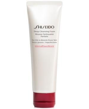 Shiseido Deep Cleansing Foam, 4.2-oz.