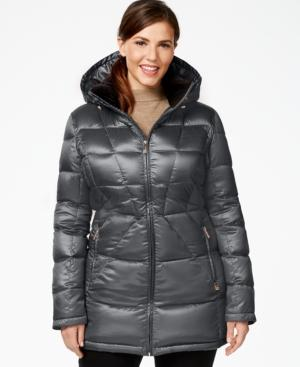 Calvin Klein Plus Size Packable Down Puffer Coat