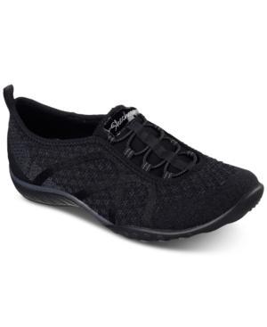 Skechers Women's Relaxed Fit: Breathe Easy - Fortuneknit Wide Width Casual Walking Sneakers From Finish Line