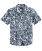 Retrofit Floral Print Short-sleeve Shirt