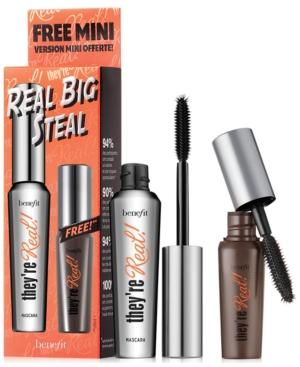 Benefit 2-pc. Real Big Steal Mascara Set. A $36 Value!