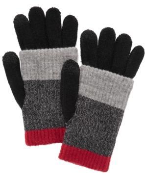 Steve Madden Multi-stripe Touchscreen Gloves