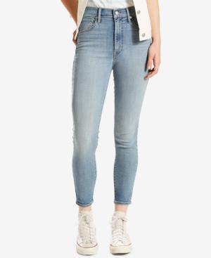 Levi's Mile High Cropped Skinny Jeans