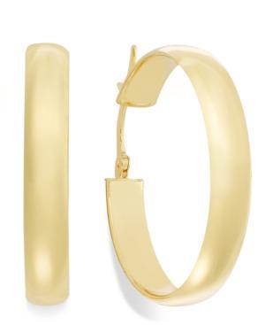 14k Gold Earrings, Hoop Earrings