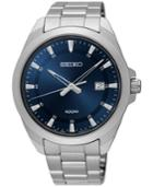 Seiko Men's Special Value Stainless Steel Bracelet Watch 42mm Sur207