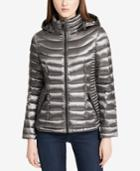 Calvin Klein Packable Hooded Puffer Coat, A Macy's Exclusive Style