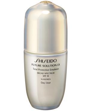 Shiseido Future Solution Lx Total Protective Emulsion Spf 18