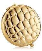 Estee Lauder Golden Alligator Slim Compact Pressed Powder