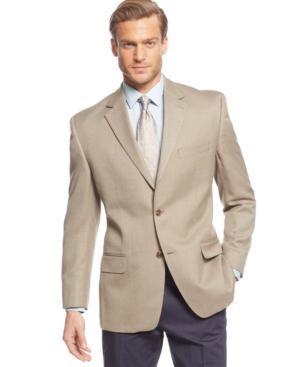 Michael Michael Kors Sport Coat Tan Texture
