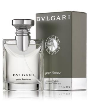 Bvlgari Pour Homme Eau De Toilette Spray, 1.7 Oz.