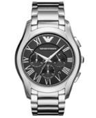 Emporio Armani Men's Chronograph Valente Stainless Steel Bracelet Watch 45mm