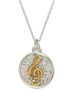 Inspirational 14k Gold Over Sterling Silver And Sterling Silver Necklace
