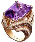 Lali Jewels Amethyst (22-1/2 Ct. T.w.) And Diamond (2-3/8 Ct. T.w.) Ring