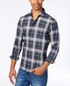Hugo Men's Slim-fit Cotton Plaid Shirt