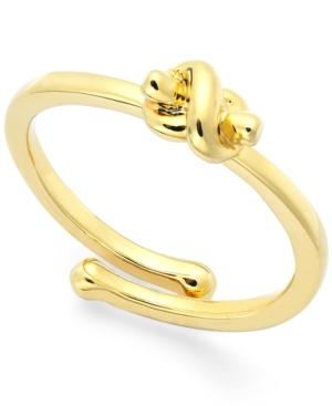Kate Spade New York Love Knot Adjustable Ring