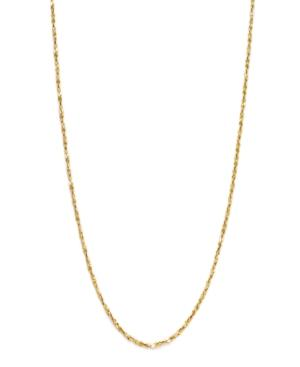 Giani Bernini 24k Gold Over Sterling Silver Necklace, Small Twist Chain Necklace
