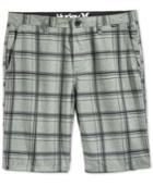 Hurley Men's Plaid Shorts