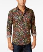 Tallia Men's Floral-print Shirt