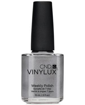 Creative Nail Design Vinylux Silver Chrome Nail Polish