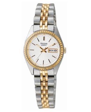 Pulsar Watch, Women's Stainless Steel Bracelet Pxx006