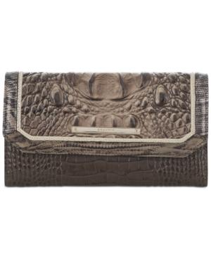 Brahmin Elmwood Padua Soft Checkbook Wallet