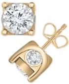 Trumiracle Diamond Stud Earrings (2 Ct. T.w.) In 14k Gold, Rose Gold Or White Gold