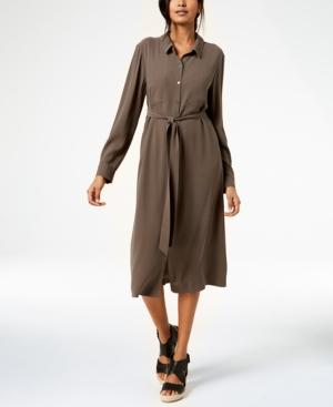 Eileen Fisher Silk Shirtdress