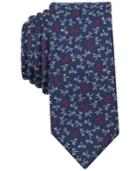 Bar Iii Men's Dragonfly Conversational Skinny Tie, Created For Macy's