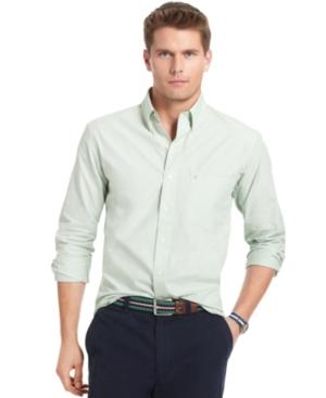 Izod Shirts, Long Sleeve Solid Essentials Shirt
