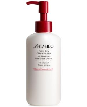 Shiseido Extra Rich Cleansing Milk, 4.2-oz.