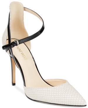 Nine West Taragon Strappy D'orsay Pumps Women's Shoes