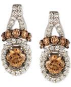 Le Vian Chocolatier Diamond Drop Earrings (7/8 Ct. T.w.) In 14k White Gold
