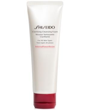 Shiseido Clarifying Cleansing Foam, 4.2-oz.