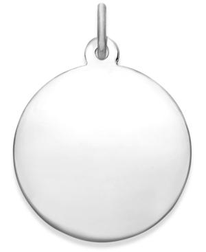 Rembrandt Charms Sterling Silver Round Classic Charm