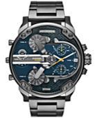 Diesel Men's Mr. Daddy 2.0 Gunmetal Ion-plated Stainless Steel Bracelet Watch 57mm Dz7331