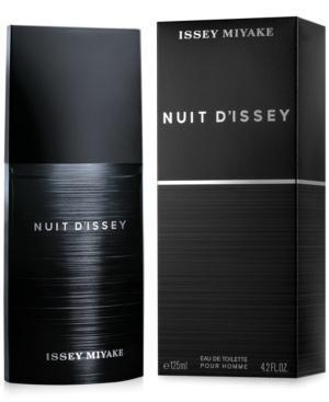 Issey Miyake Nuit D'issey Eau De Toilette, 4.2 Oz
